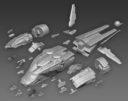AWI Antenocitis Workshop Designed For Infinity Efreet Dropship Kickstarter 6