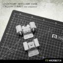 Kromlech Legionary Artillery Tank Cyclon Turret 9