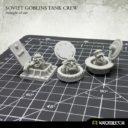 Kromlech Soviet Goblins Tank Crew 2