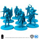 Monilith Games Batman Board Game Gotham Police Tactical Group 4
