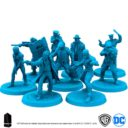 Monilith Games Batman Board Game Gotham Police Tactical Group 5