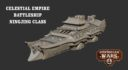 Warcradle Studios Dystopian Wars Celestial Empire The Ningjing Battleship 1