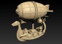 Norbaminiatures Dwarfen Air Ship 1