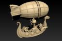 Norbaminiatures Dwarfen Air Ship 2