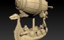 Norbaminiatures Dwarfen Air Ship 3