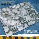 PW Pwork Wargames Terrain Mat Frostgrave 1