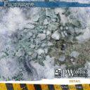 PW Pwork Wargames Terrain Mat Frostgrave 5