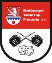 Bedburger Tabletop Freunde EV Wappen NEU