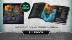 CoD Court Of The Dead Mourners Call Board Game 12