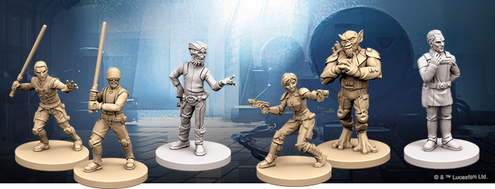 Star Wars Imperial Assault Kanan Jarrus Alternative Rare Art Spectre-1