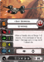 Fantasy Flight Games X Wing Saw's Renegades Expansion Pack 6