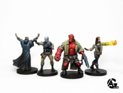 MG Mantic Hellboy Bemalt 5