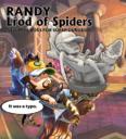 Soda Pop Miniatures Ninja Division Super Dungeon Explore RANDY, LROD OF SPIDERS 1