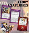 Soda Pop Miniatures Ninja Division Super Dungeon Explore RANDY, LROD OF SPIDERS 2