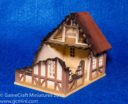 GameCraft Miniatures Tudor House Ruined 01