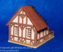 GameCraft Miniatures Tudor House Ruined 03