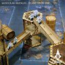 Kromlech Tabletop Scenic Modular Bridges Riffled 3
