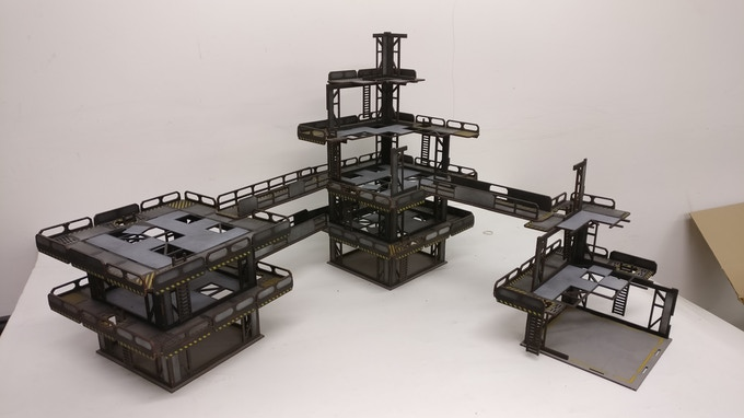 Laser Terrain: Modular Painted Terrain Kickstarter