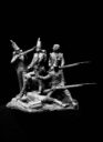 Mitches Military Models Six Soldier Diorama 3