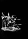 Mitches Military Models Six Soldier Diorama 5
