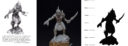 RF Slumbering Oblivion Cthulhu Inspired Game Miniatures 3