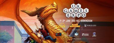 UK Games Expo Banner