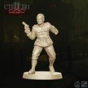 CMON Cthulhu Death May Die Sergeant Major Ian Welles 1
