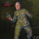 CMON Cthulhu Death May Die Sergeant Major Ian Welles 3