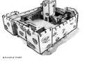 ESLO 3D Printable Fort Castle 3