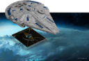 Fantasy Flight Games X Wing Secod Edition Lando's Millennium Falcon 2