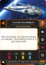 Fantasy Flight Games X Wing Secod Edition Lando's Millennium Falcon 3