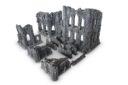 Gamemat Small Gothic Ruins Set 01