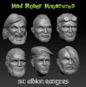 Mad Robot Miniatures 1st Albion Rangers 05