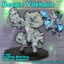 Ninja Division Super Dungeon Explore Hecate Vilehor