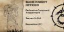 PP Bane Knight Officer
