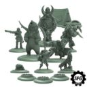 Steamforged Games Guild Ball The Hunter's Guild Heralds Of The Winter's Moon (Resin)