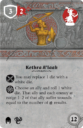 Fantasy Flight Games Runewars Kethra A'laak Hero Expansion 7