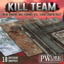 PWORK Wargames Kill Team Matten Announcement