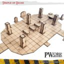 PWORK Temple Of Doom Set Mdf Fantasy Tiles 01