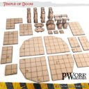 PWORK Temple Of Doom Set Mdf Fantasy Tiles 03