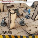 PWORK Temple Of Doom Set Mdf Fantasy Tiles 04