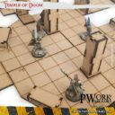 PWORK Temple Of Doom Set Mdf Fantasy Tiles 05