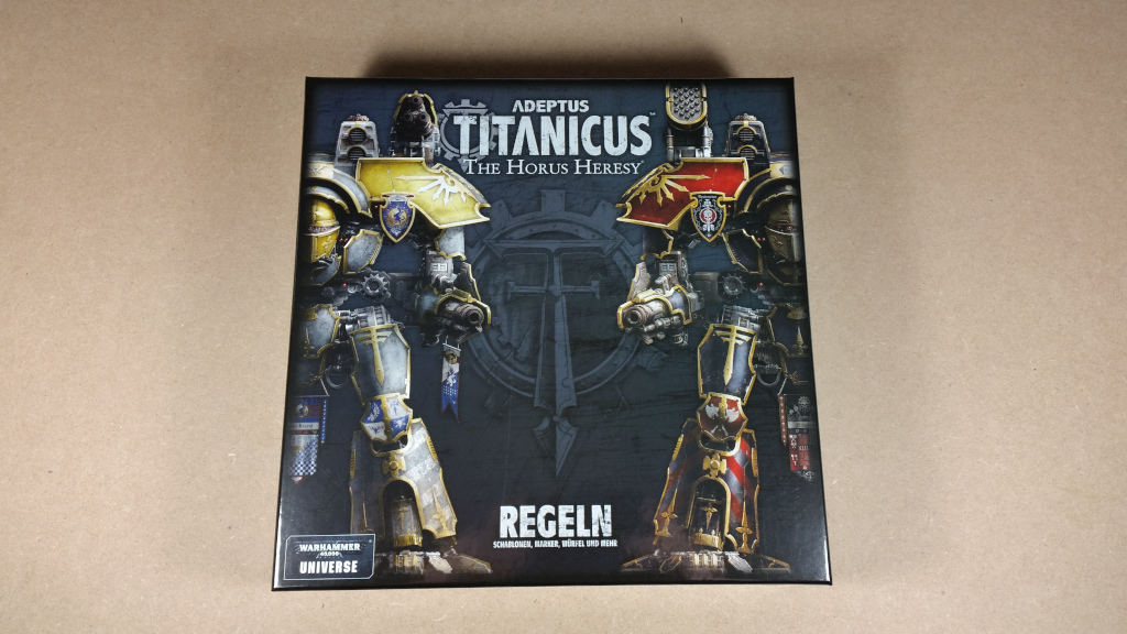 Unboxing/Review: Adeptus Titanicus – Brückenkopf-Online com