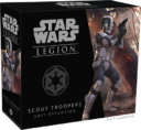 Fantasy Flight Games Star Wars Legion Scout Troopers Unit Expansion 1