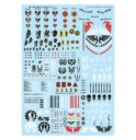 Games Workshop Warhammer 40.000 Abziehbilderbogen Imperiale Ritter