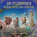 LE Lucid Eye Jim FitzPatrick Official Collectible Miniatures Nuada, Ériu, Balor & Lugh