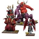 MG Mantic Kings Of War Vanguard Commander Bundle 9