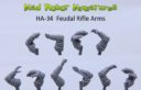 Mad Robot September Release Feudal Rifle Arms