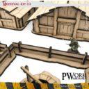 PWORK Wargames Medieval 01 Mdf Terrain Scenery 3