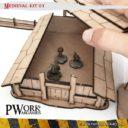 PWORK Wargames Medieval 01 Mdf Terrain Scenery 4
